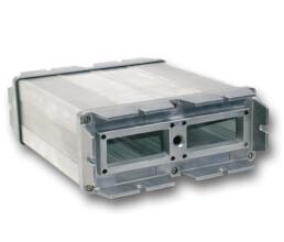 Druckguss Aluminiumdeckel mit Aluminium Strangpressprofil