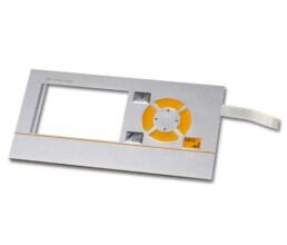 Folientastatur mit Displayausschnitt