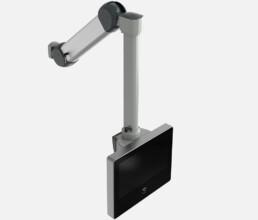 HMI Touch Panel PC mit höhenverstellbarem Tragarm