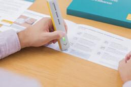 Bestellstift der Post im Kunststoffspritzgussverfahren
