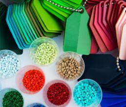 Verschiedene Farben Kunststoffgranulat für Gehäuse