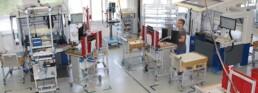 Produktion kundenspeziefischer Gehaeuseloesungen mit Montage im One Piece Flow