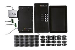 SETAGO Pick to Light Set aus Sensoren im Kunststoffspritzguss- und Steuerung im Aluminium Strangpressprofilverfahren