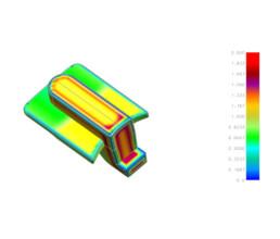 Moldflow Analyse eines Gehäuses