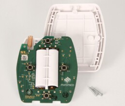 IoT Elektronik montiert im Spritzgussteil