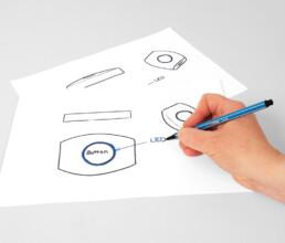 Produktdesign eines Spritzgussteiles aus Kunststoff